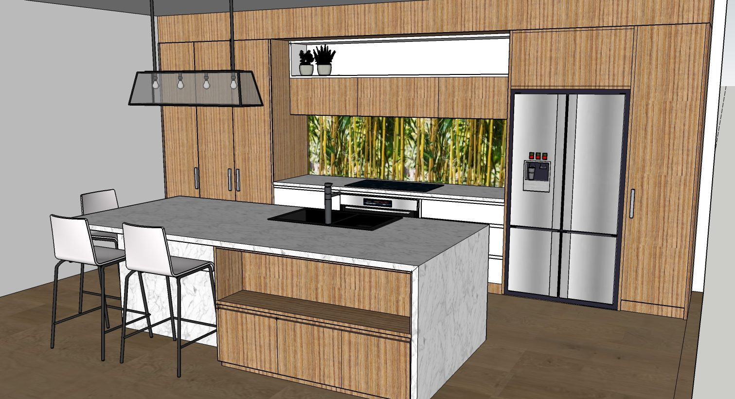 3D SketchUp for Kitchens and Bathrooms