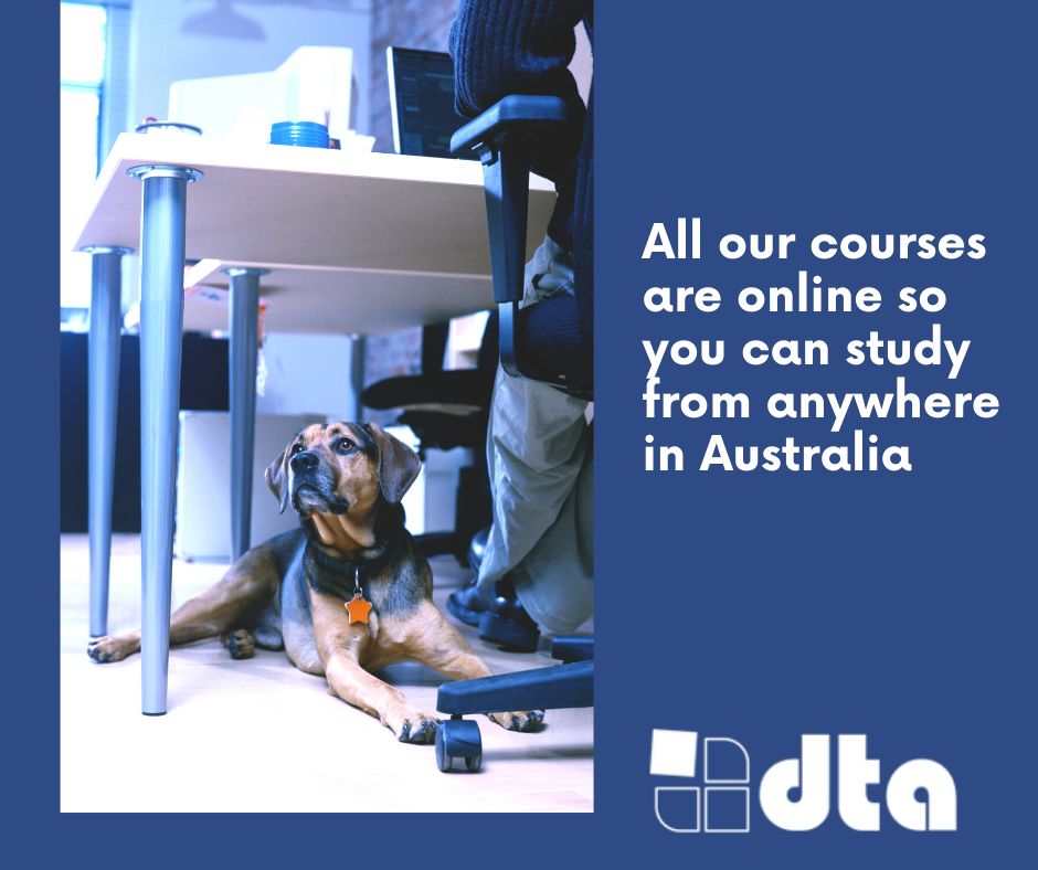 All courses are online